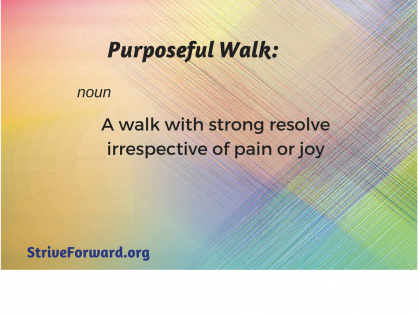 Purposeful Walk